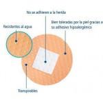 Tirita redonda Hartmann de 22 milímetros de diámetro