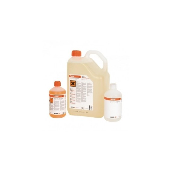 Revelador Agfa G-138i (botellas para 20 litros)