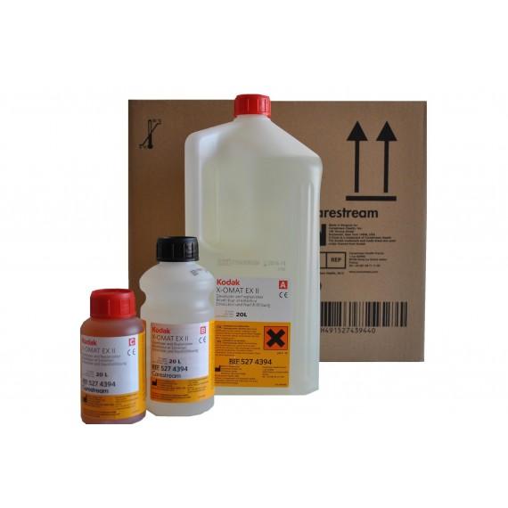 Revelador Carestream X-OMAT EX II (2 usos x 20 litros)