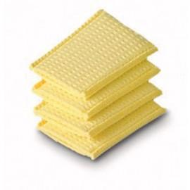 Almohadilla húmeda de esponja para electrodos de 4 x 6 centímetros