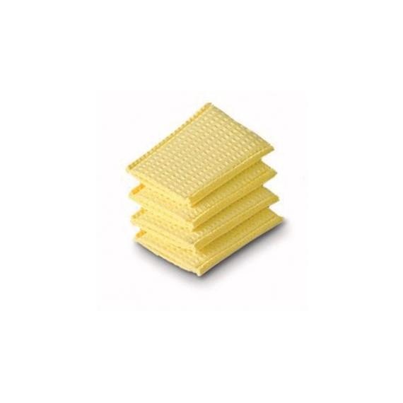 Almohadilla húmeda de esponja para electrodos de 4 x 6 centímetros (4 unidades)