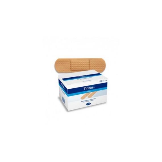 Tiritas plastic hipoalergénicas Hartmann de 19 x 72 milímetros (250 unidades)
