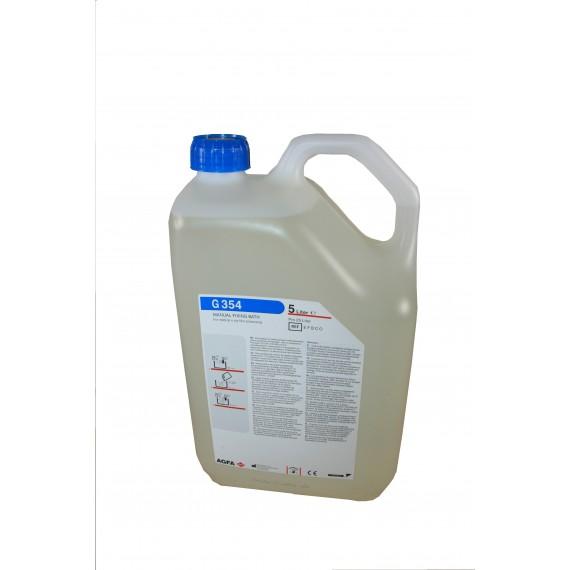 Garrafa fijador Agfa G-354 de 5 llitros para 25 litros