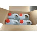 4 garrafas se pueden suministrar en la caja original