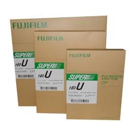 Película RX Fuji Super HR-U de 15 x 30 centímetros