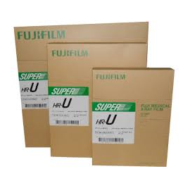 Película RX Fuji Super HR-U de 24 x 30 centímetros