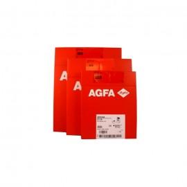 Película RX Agfa Drystar DT 2 B de 25,4 x 30,5 centímetros