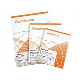 Película RX Carestream MXG de 18 x 24 centímetros