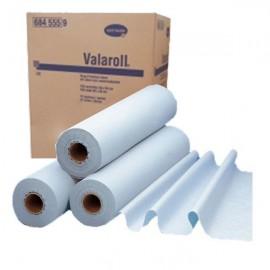Rollos de papel para camilla Valaroll de 2 capas y de 50 centímetros x 57 metros