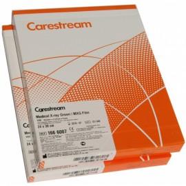 Película RX Carestream MXG de 24 x 30 centímetros