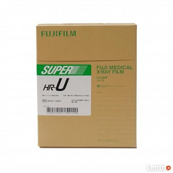 Película RX Fuji Super HR-U de 18 x 24 centímetros (100 unidades)