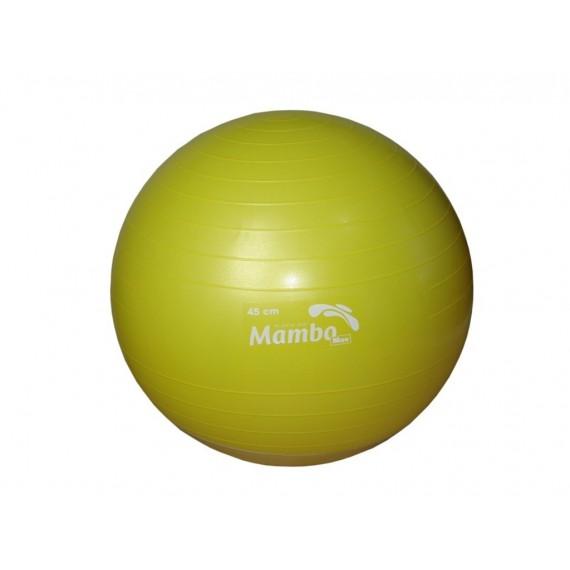 Pelota AB Gym de 45 centímetros color amarillo