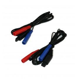Cables para Emp 2 Pro, Tens Eco 2 y Xtr2 -1 juego de 2 unidades
