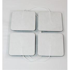 Electrodos adhesivos Dormo-TENS ST-50 con cable de 2 mm Telic de 50 x 50 milímetros
