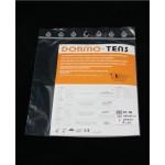 Electrodos adhesivos Dormo-TENS ST-50 con cable de 2 mm Telic de 50 x 50 milímetros (4 unidades)