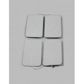 Electrodos adhesivos Dormo-TENS ST-100 con cable de 2 mm Telic de 50 x 89 milímetros
