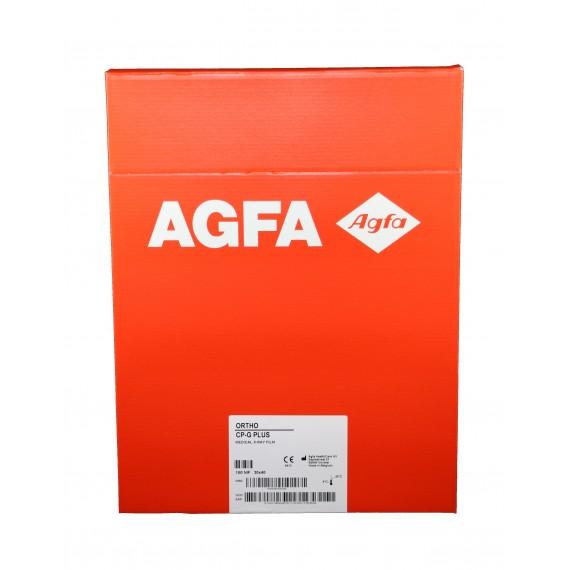 Película RX Agfa Ortho CP-G Plus de 30 x 40 centímetros (100 unidades)