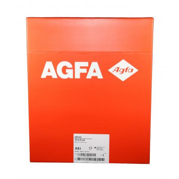 Película RX Agfa Ortho CP-G Plus de 35 x 43 centímetros (100 unidades)