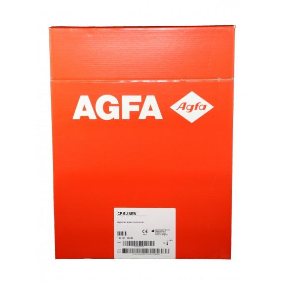 Película RX Agfa CP-BU New de 30 x 40 centímetros (100 unidades)