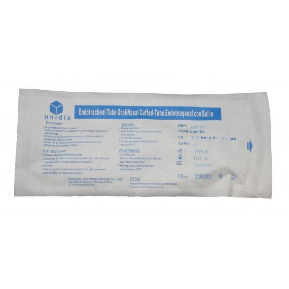Tubo endotraqueal oral/nasal con balón UNIDIX nº 5