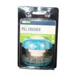 Pastillero triturador Ergo-Grip EZY-CAREgrande (azul)