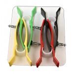 Pinzas para adulto Ag/AgCl (juego de 4 colores)