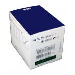 """Agujas hipodérmicas BD Microlance 3 de 0,8 x 25 milímetros 21G x 1"""" Verde (100 unidades)"""
