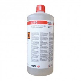 Botella de revelador Agfa G-150 de 1 litro para 6 litros