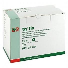 Venda tubular de malla elástica TG-FIX talla E de 25 metros