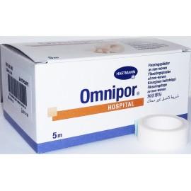 Esparadrapo de papel Omnipor de 2,5 centímetros x 5 metros (formato hospital)