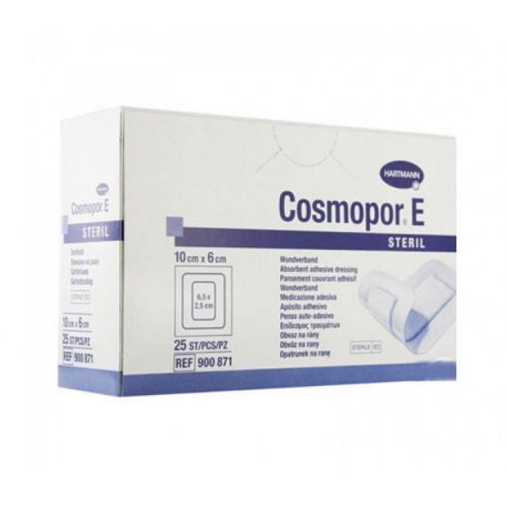 Apósitos adhesivos estériles Cosmopor E de 10 x 6 centímetros (25 unidades)