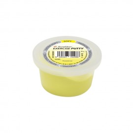 Masilla para rehabilitación de manos RehabMedic amarilla (suave) de 85 gramos
