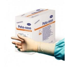 Guantes quirúrgicos sin polvo de elastómero sintético Peha-neon Plus talla 8½