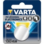 Pila de botón Varta Litio CR-2450 de 3V y 560mAh