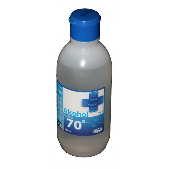 Alcohol loción de 70º YBK KELSIA de 250 mililitros