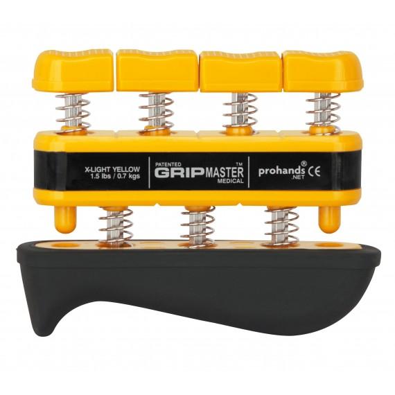 Muelle Exercise Grip RehabMedic amarillo (0,7 Kg. / 2,3 Kg.)