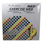 Ejercitador Web Maxi grande amarillo suave
