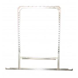 Marco colgador para películas en acero inoxidable de 24 x 30 centímetros
