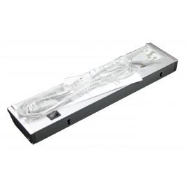 Fluorescente inactínico completo de 8W y de 35 x 9 centímetros