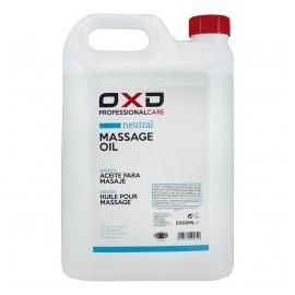 Aceite neutro para masaje OXD de 5000 mililitros