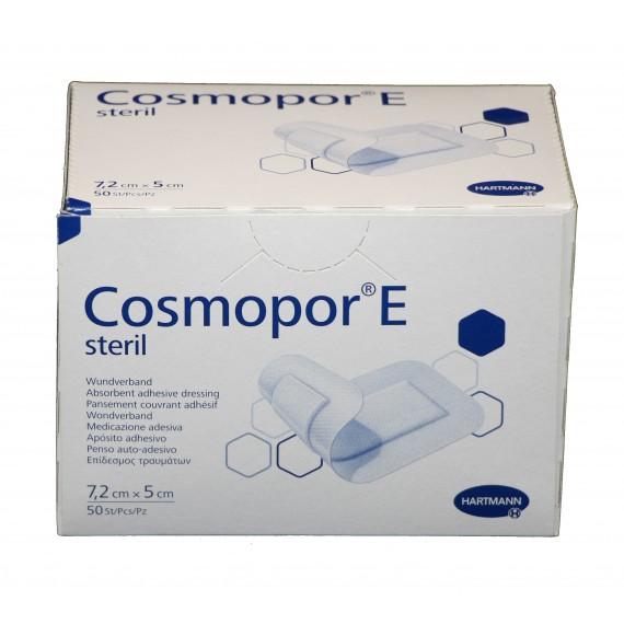 Apósitos adhesivos estériles Cosmopor E de 7,2 x 5 centímetros (50 unidades)