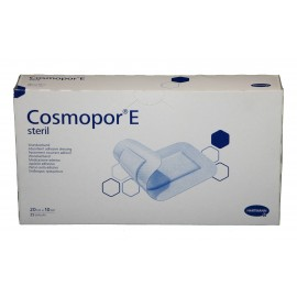 Apósitos adhesivos estériles Cosmopor E de 20 x 10 centímetros
