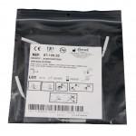 Electrodos adhesivos estimulación Lessa de 45 x 98 milímetros con cables conexión hembra de 2 mm (4 unidades)