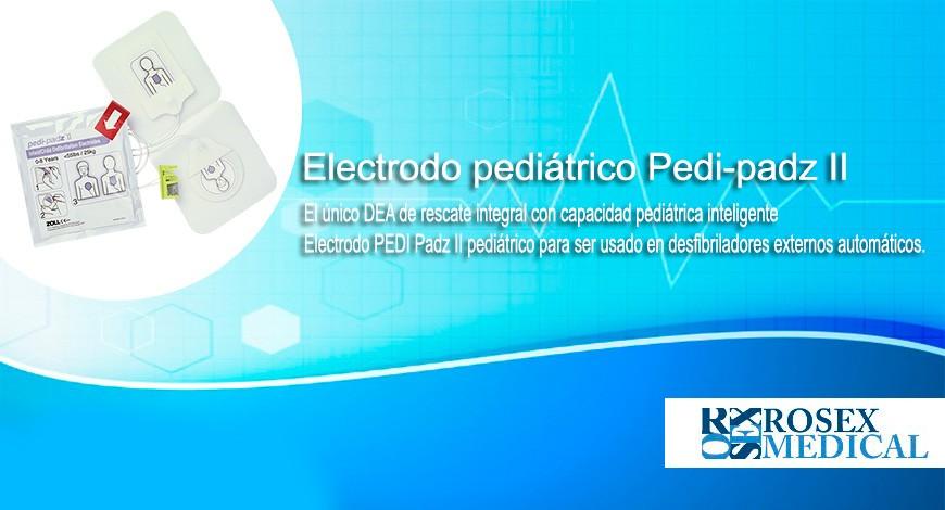 Solo en Rosex Medical - El único DEA de rescate integral con capacidad pediátrica inteligente